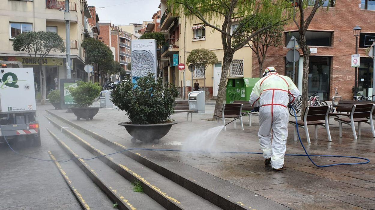 Es recupera la neteja amb aigua als carrers després detectar tres màquines amb legionel·la