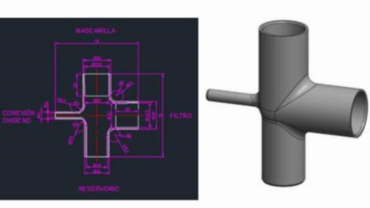 Una peça del disseny es fabrica a HP Sant Cugat / Foto: HP
