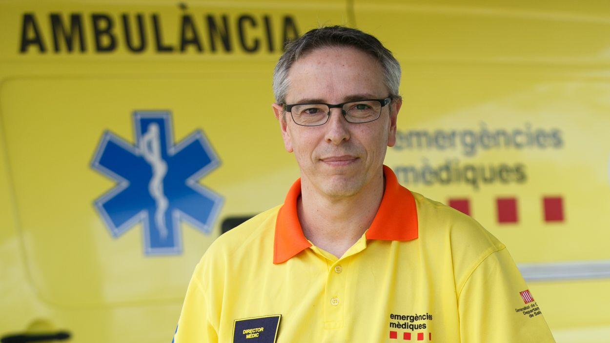 Francesc Xavier Jiménez, director mèdic del SEM / Foto: Cedida