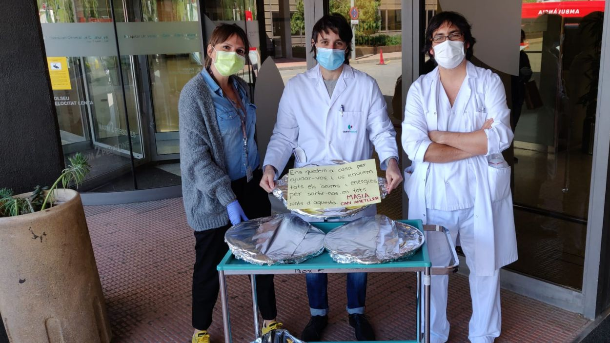 Health Warriors, un projecte liderat per un santcugatenc que porta menjar als sanitaris