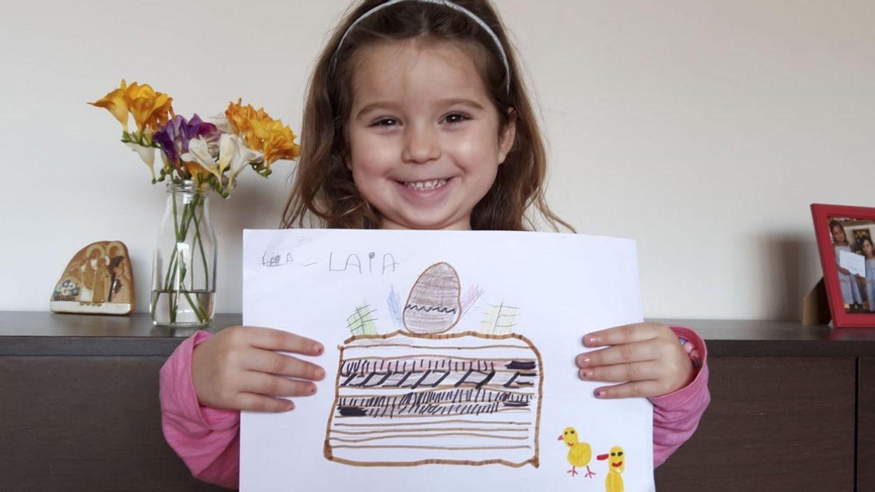 Laia Sánchez ha guanyat la Mona de Cugat Mèdia / Font: Cedida