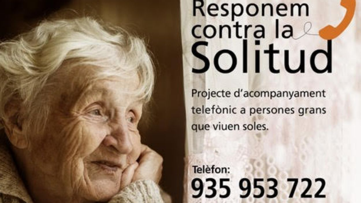 Rotary Club Sant Cugat donarà assistència telefònica a persones que viuen soles