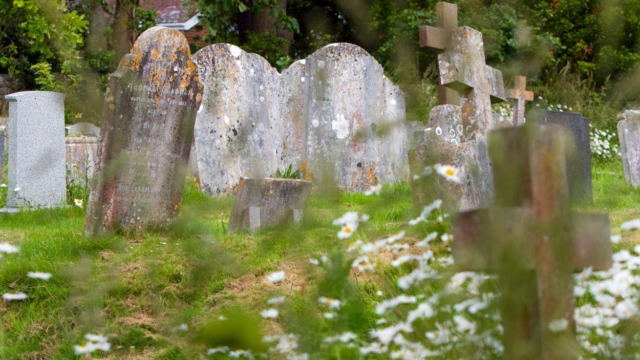 Imatge d'un cementiri / Foto: Creative Commons CC0