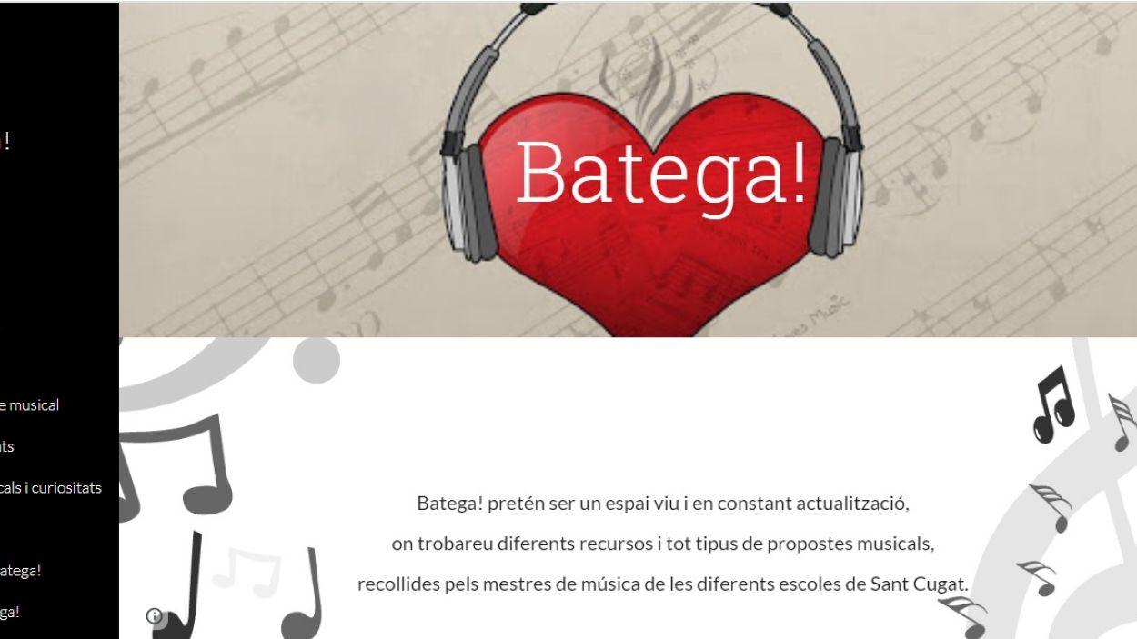 El blog Batega pretén ser un espai d'entreteniment dedicat a la música per a tothom durant aquests dies de confinament a casa / Font: Blog Batega