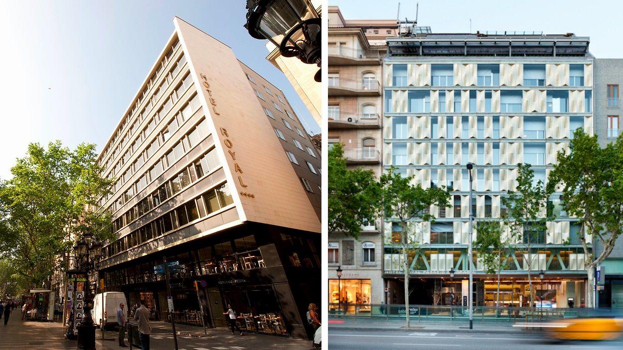 Els hotels de la cadena a la capital catalana / Foto: Royal Hotels Barcelona