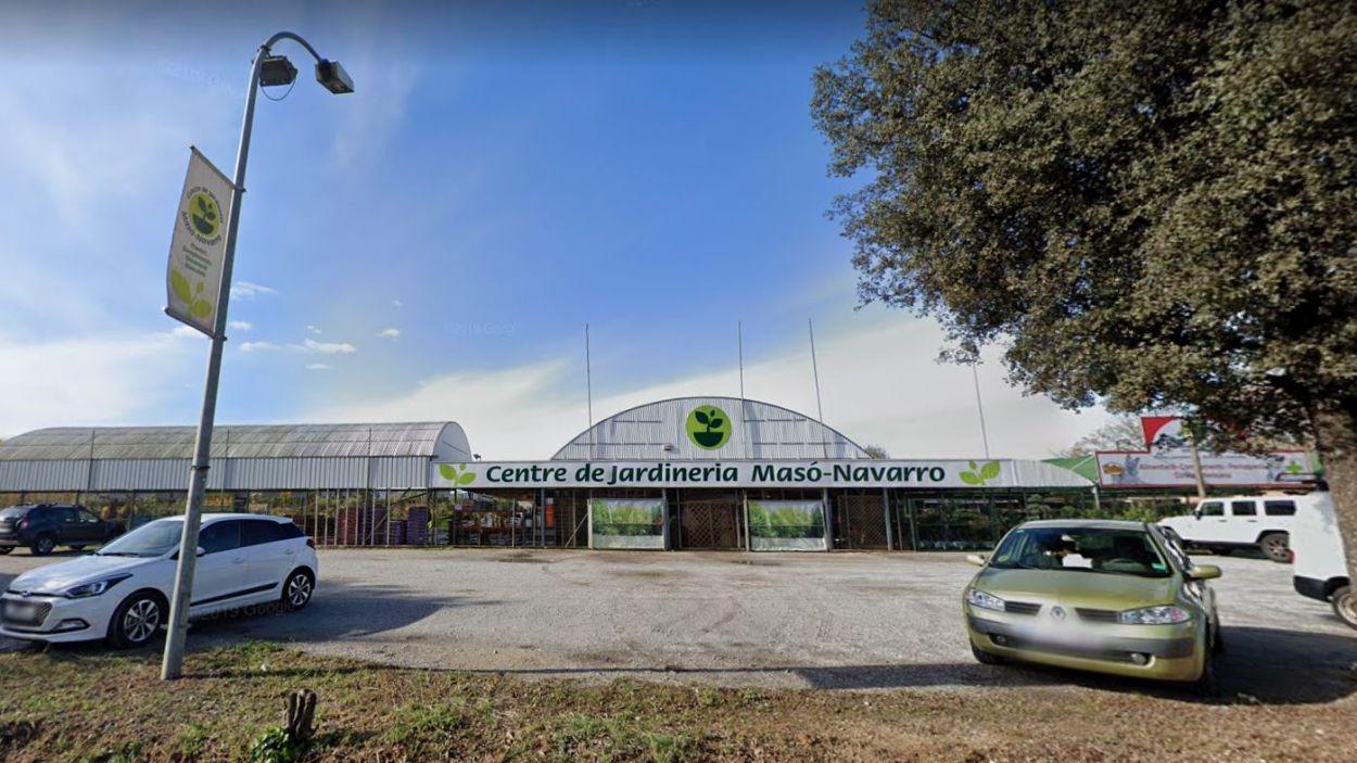 El Centre de Jardinera Masó-Navarro , a la Carretera de Rubí/ Foto: Google Maps