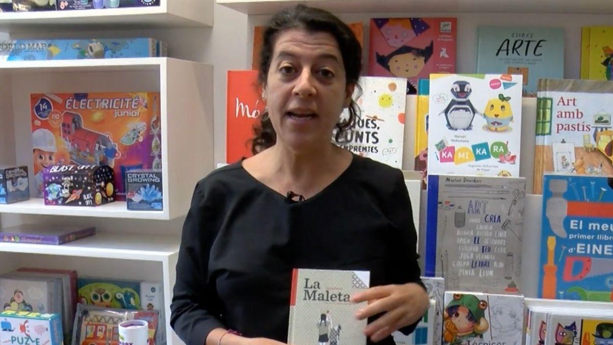 Mont Soler, llibretera al Pati de Llibres / Foto: Cugat Mèdia