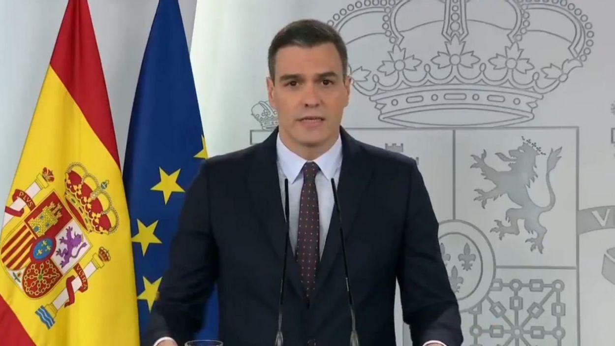 Pedro Sánchez ha prorrogat el sisè i últim estat d'alarma / Font: Moncloa
