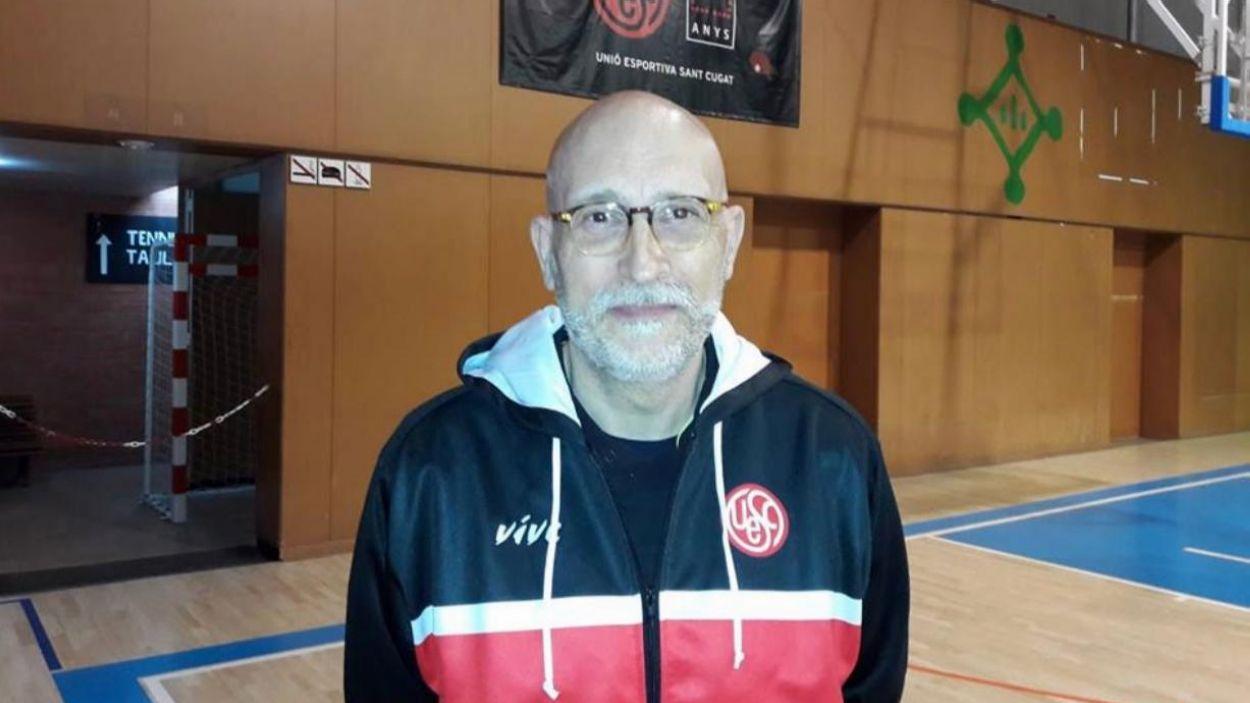 Francisco Soro serà el nou entrenador de la UESC femenina la propera temporada / Font: UESC