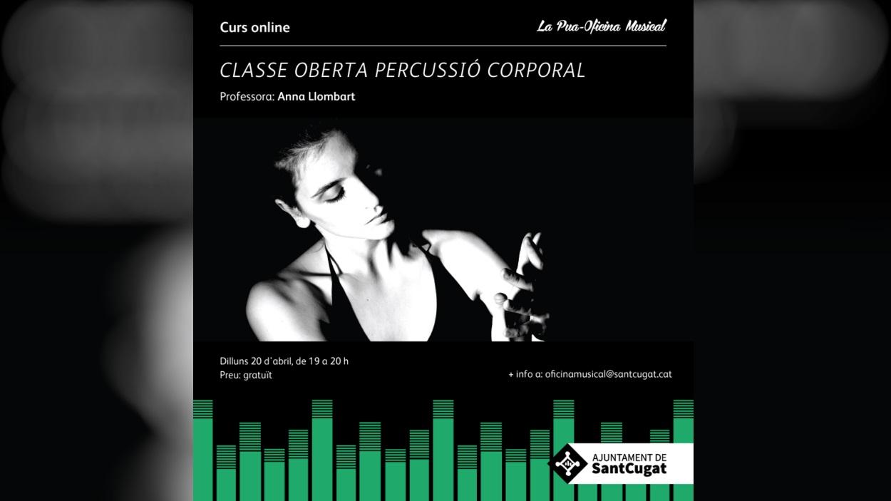 Curs online: Classe oberta percussió corporal