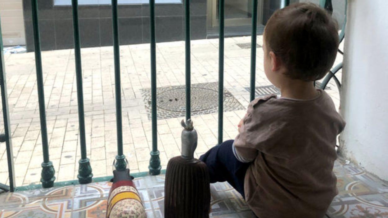 Els infants podran gaudir una estona del carrer / Foto: ACN