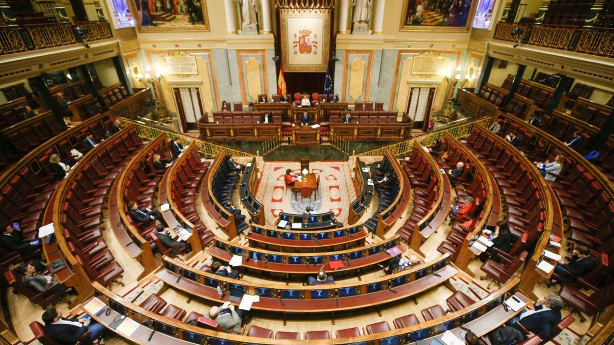 Imatge del ple del Congrés dels Diputats / Foto: Congreso