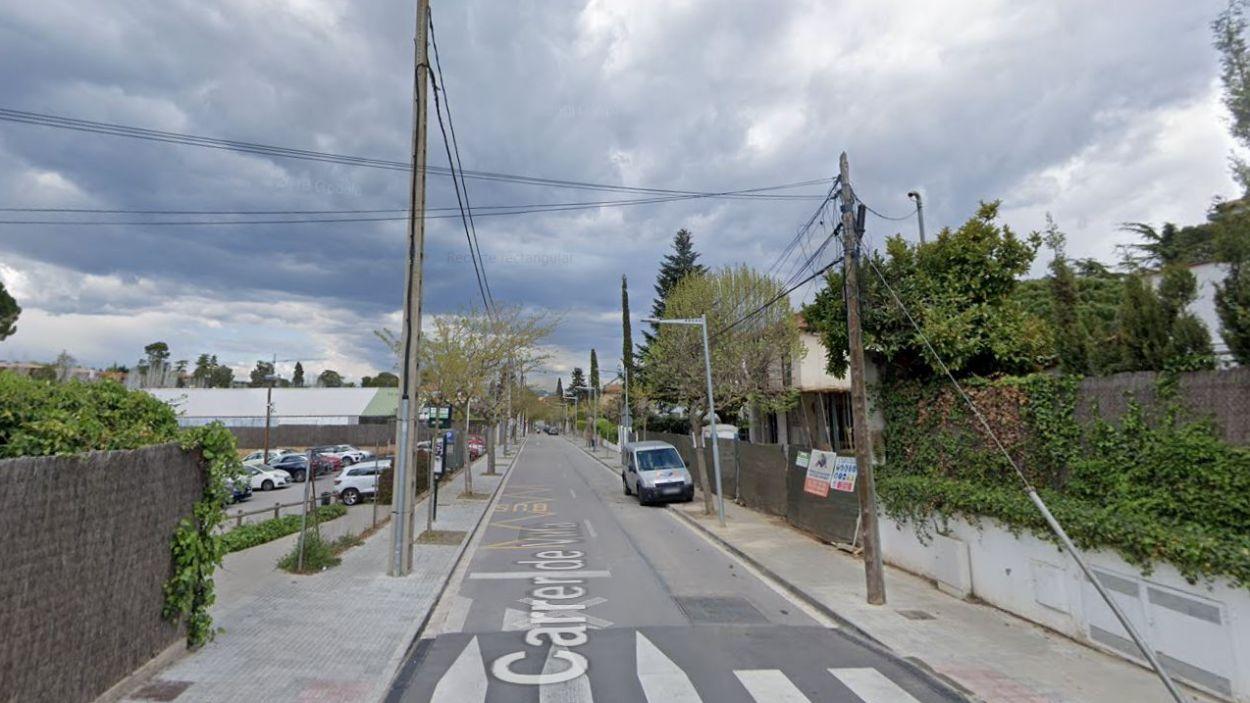 Endesa ha substituït cablejat elèctric de Sant Cugat / Foto: Google Maps
