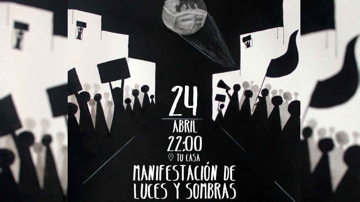 Detall del cartell de la crida / Foto: Fridays for future Sant Cugat