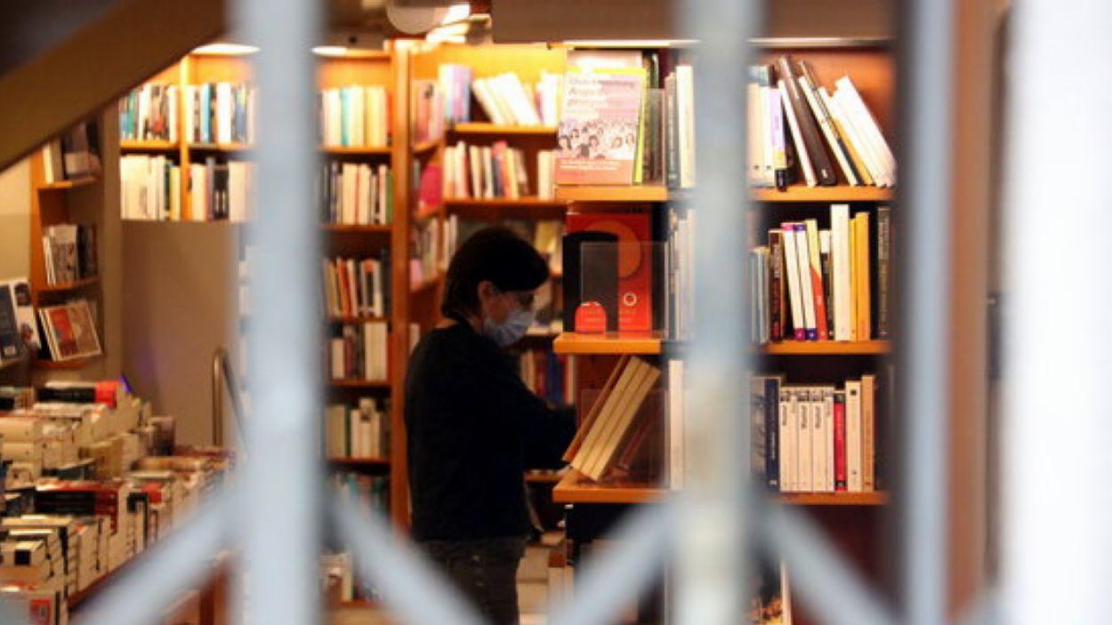 Sant Jordi 'trist' pel Gremi de Llibreters / Foto: ACN