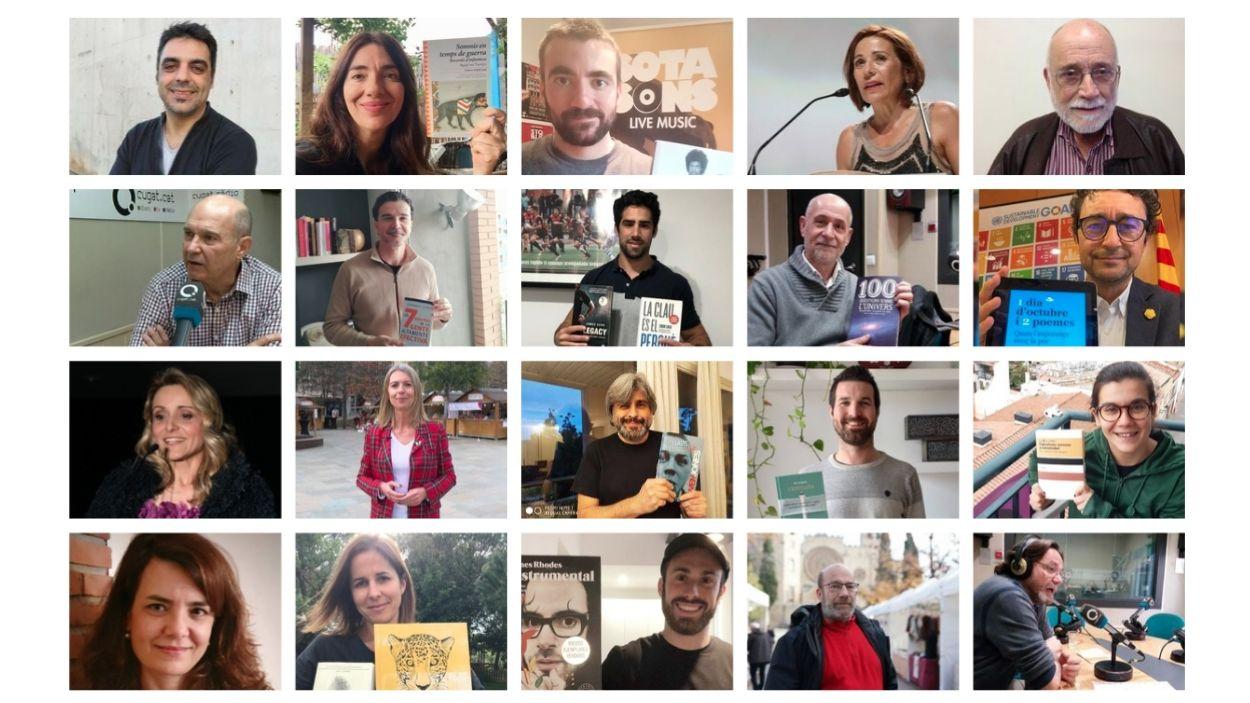 Personalitats de Sant Cugat fan la seva recomanació literària per Sant Jordi / Fotos: Diverses fonts