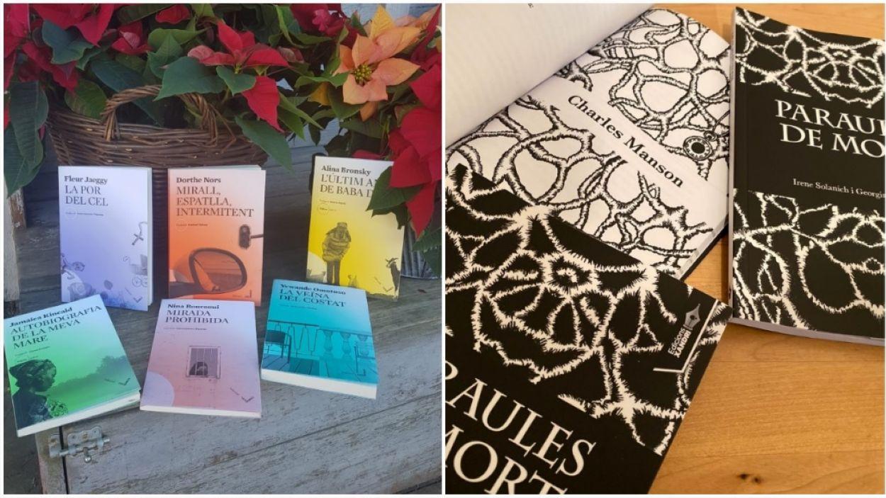 Llibres de Les Hores i Edicions Xandri / Foto: Cedida