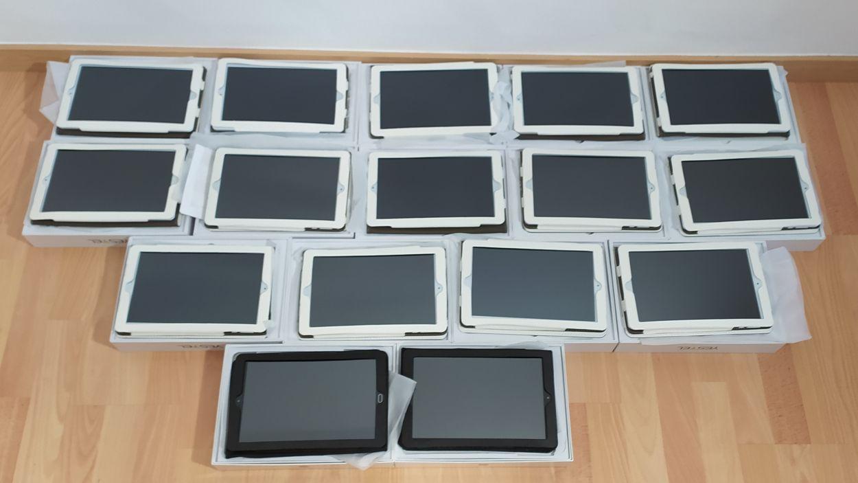L'AMPA ha comprat 16 dispositius / Foto: Escola Santa Isabel