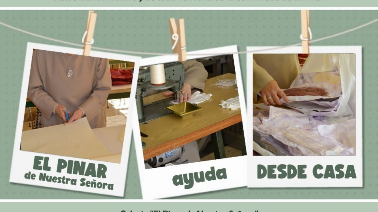 L'escola El Pinar fabrica mascaretes / Foto: El Pinar