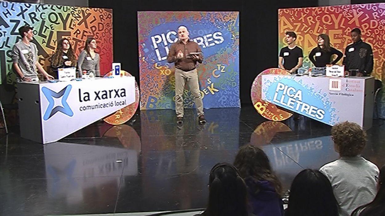 Els alumnes de l'escola Jaume Viladot i de l'institut Forat del Vent, enfrontats al 'Pica lletres'