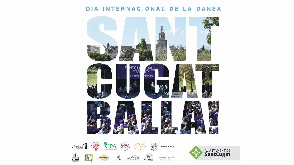 Cartell del Dia Internacional de la Dansa / Foto: Ajuntament de Sant Cugat