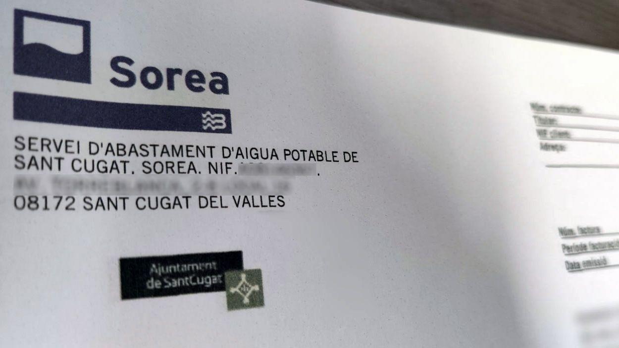 Sorea donarà un euro per cada usuari que digitalitzi la factura / Foto: Cugat Mèdia