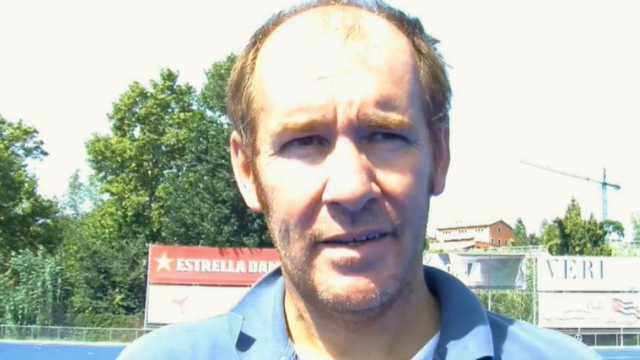 Joan Vidal s'havia estrenat aquesta temporada al capdavant del masculí / Foto: Cugat Mèdia