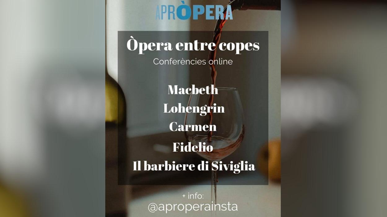 Conferència 'Òpera entre copes': ''Carmen', de Bizet'