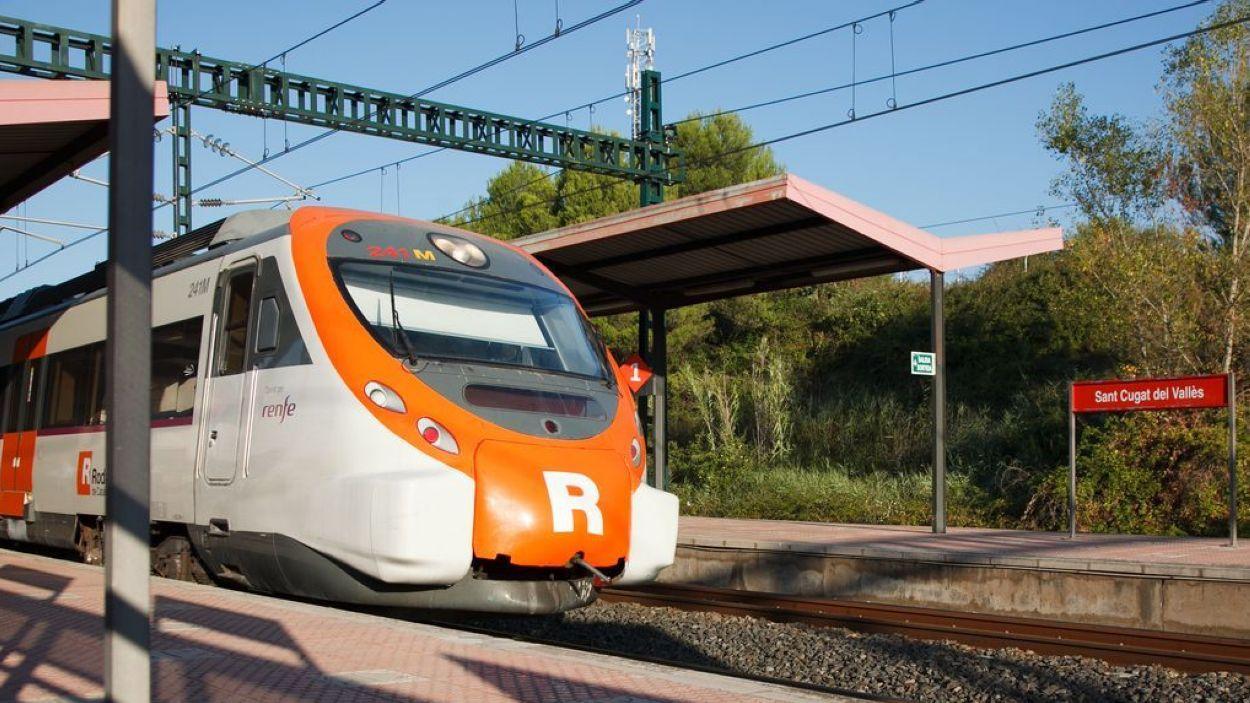 Imatge de l'estació santcugatenca / Foto: Ajuntament