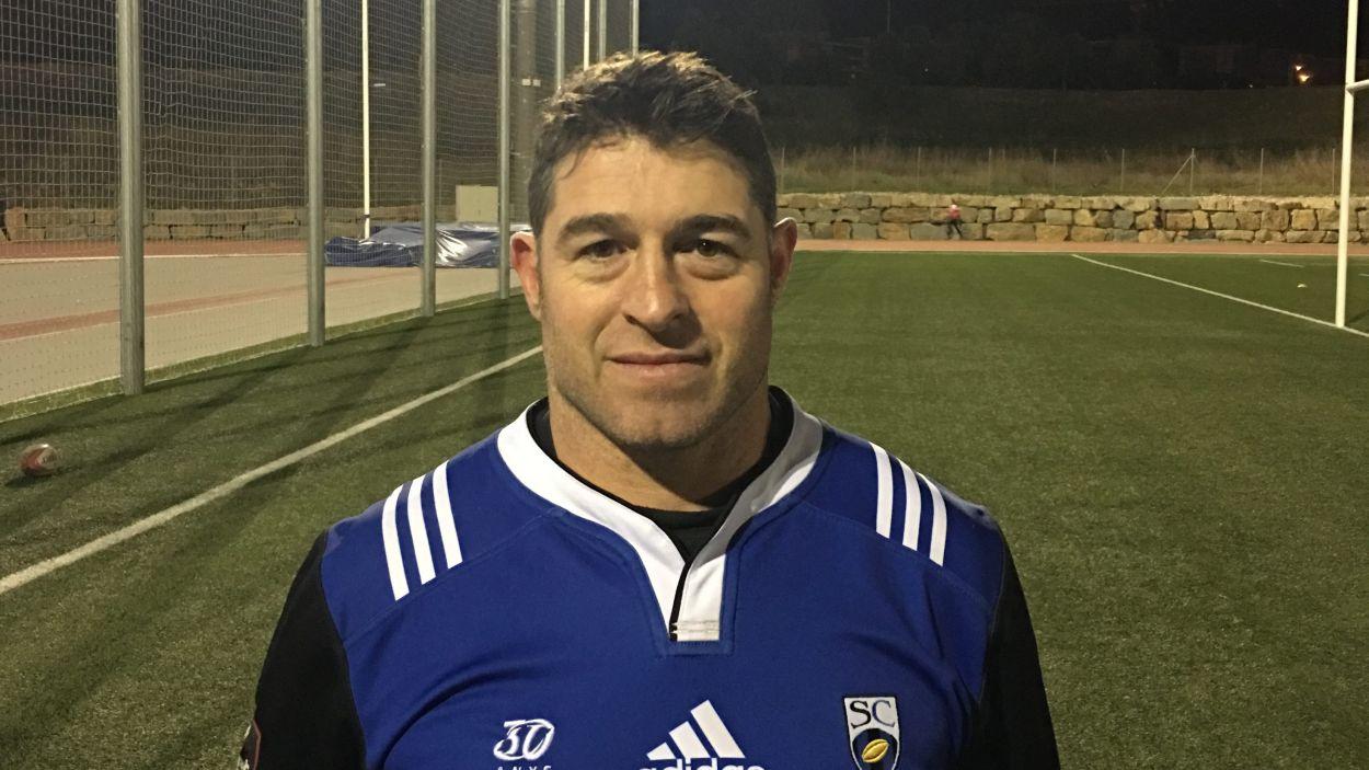 Daniel Ripol, nou entrenador del masculí del Rugby Sant Cugat / Font: Rugby Sant Cugat