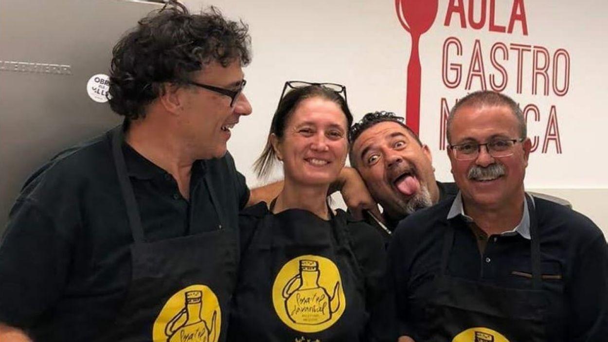 La Colla de l'allioli neix a l'Aula Gastronòmica del Casal de Torreblanca / Foto: Cedida