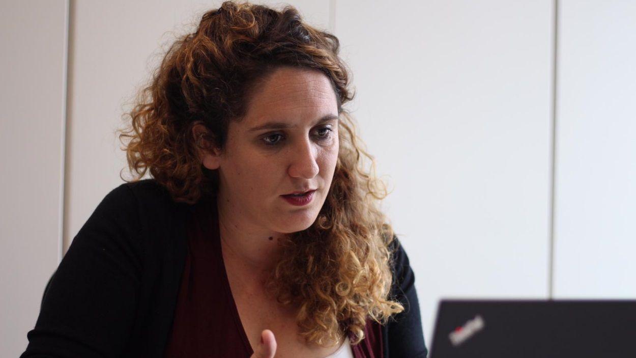 Núria Gibert és la tinenta d'alcaldia de Drets Socials i Igualtat / Foto: Cugat Mèdia