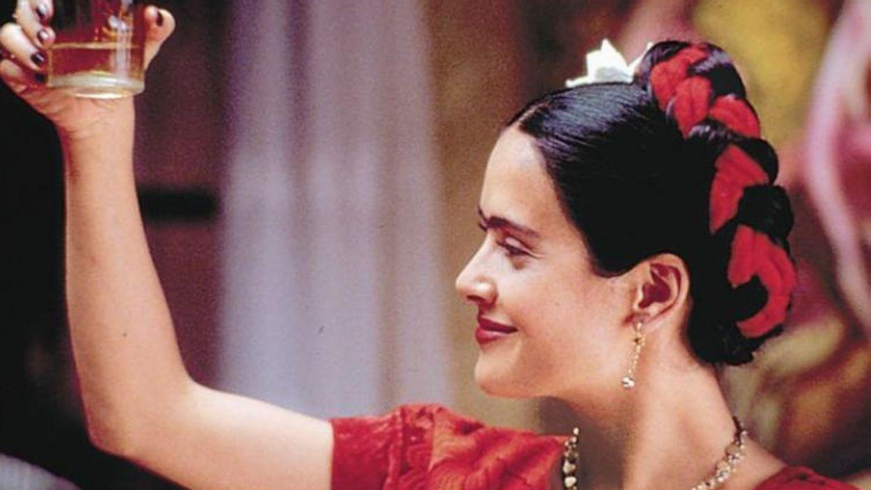 Salma Hayek, en el paper de 'Frida'