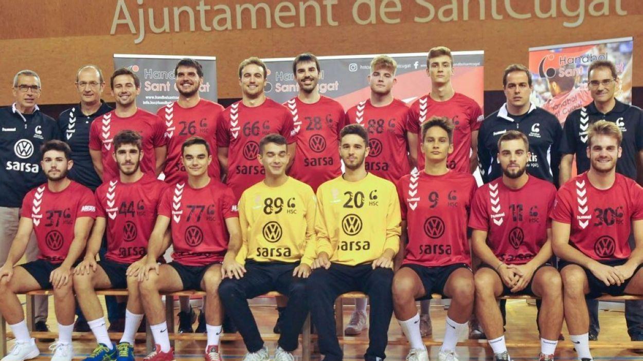 El sènior B ha pujat a Lliga Catalana / Font: Handbol Sant Cugat