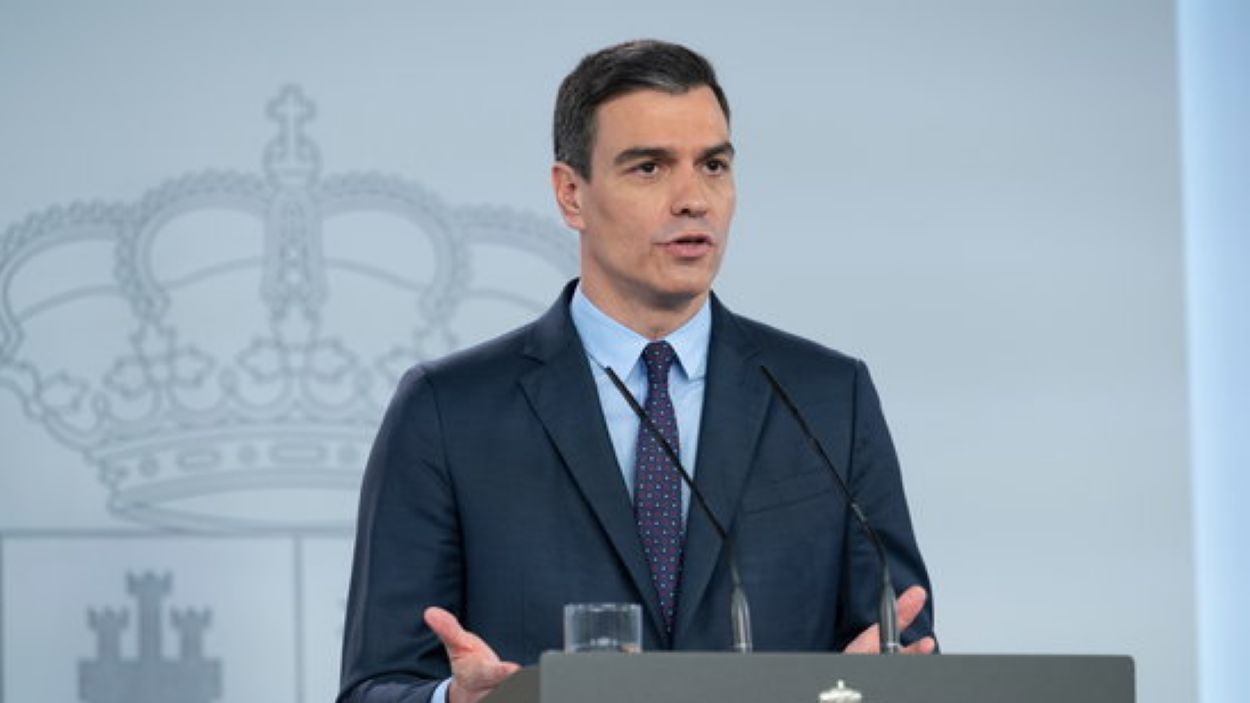 El president del govern espanyol durant la roda de premsa / Foto: ACN