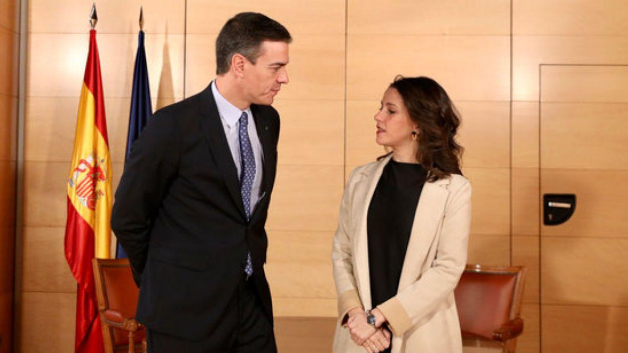 Pedro Sánchez i Inés Arrimadas / Foto: ACN