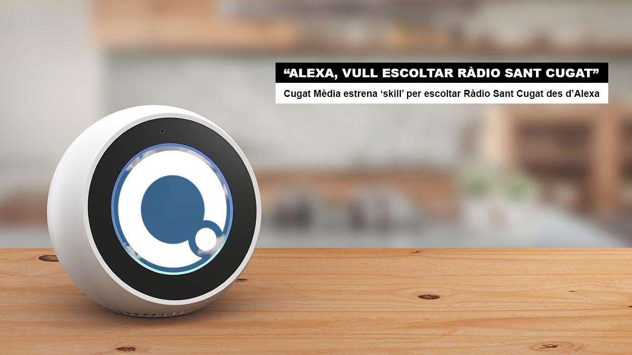 'Alexa, vull escoltar Ràdio Sant Cugat'