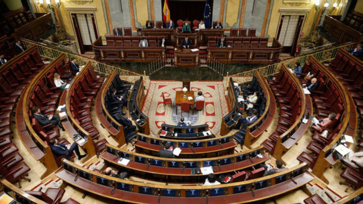 Pla general del Congrés espanyol aquest dimecres / Foto: ACN