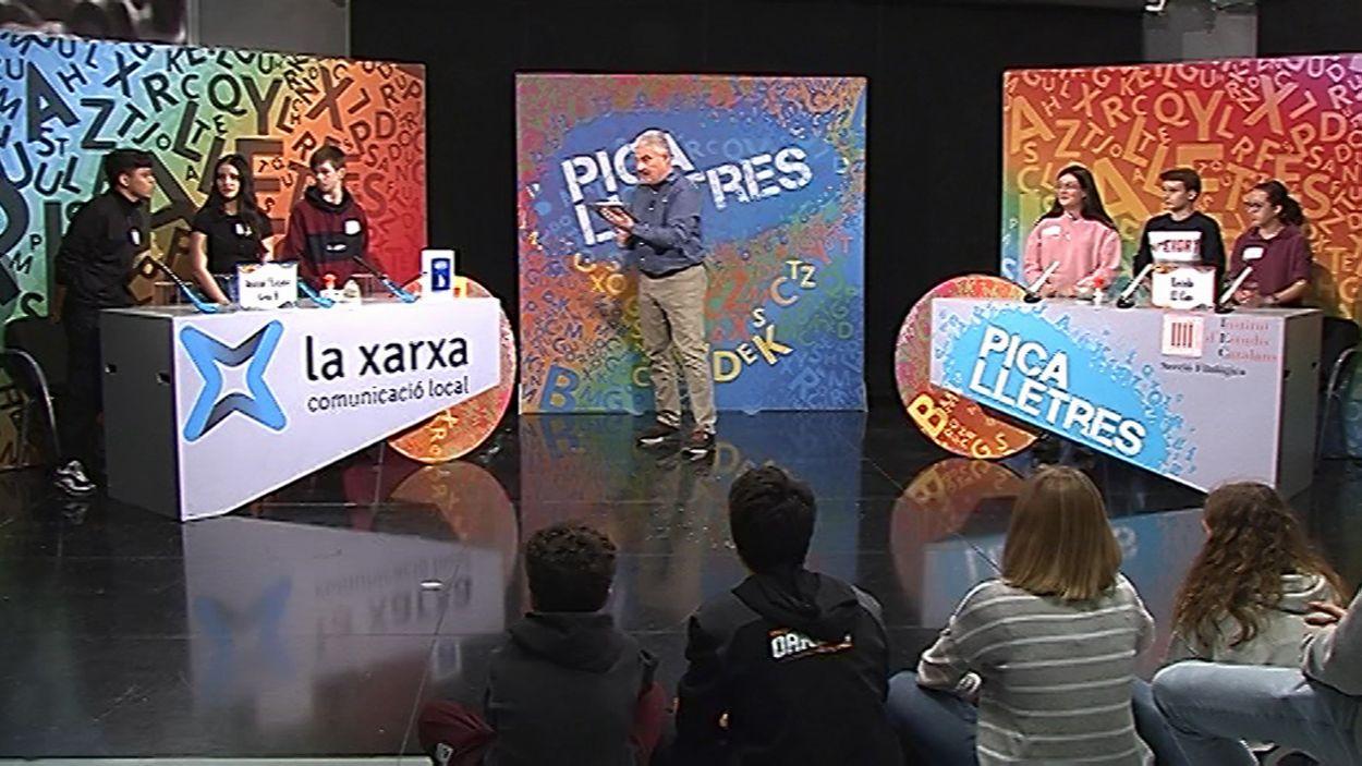 Nou capítol del 'Pica lletres' / Foto: Cugat Mèdia