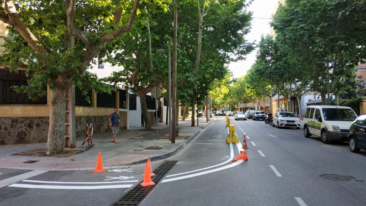 L'Anell de Mobilitat Verda passa per la Rambla Ribatallada / Foto: Cugat Mèdia