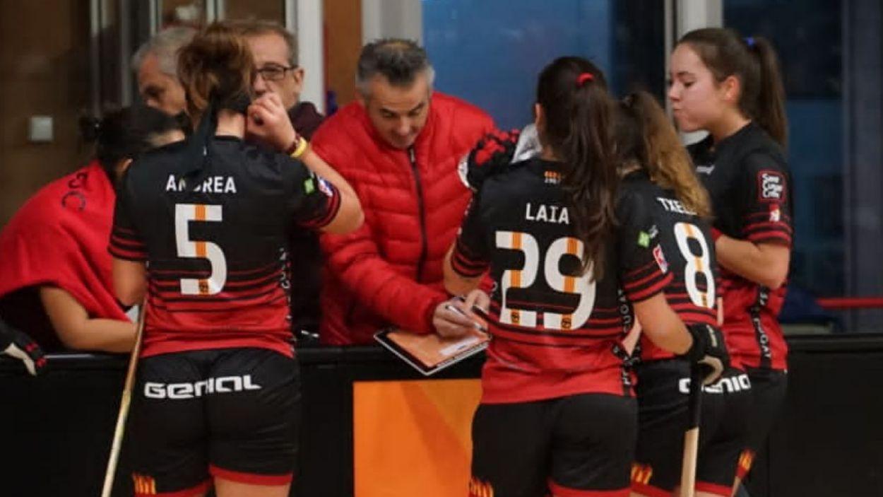El femení del Patí Hoquei ja coneix els rivals a la lliga / Font: Cugat Mèdia
