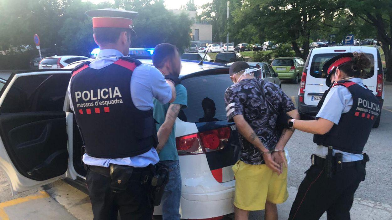 Detenció dels Mossos d'Esquadra a la nostra ciutat / Font: Mossos d'Esquadra