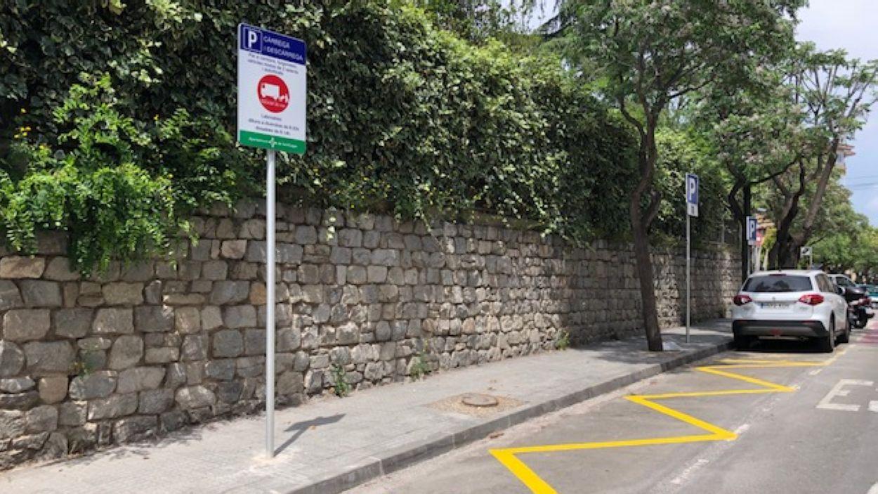 Una de les noves zones d'aparcament / Foto: Ajuntament de Sant Cugat