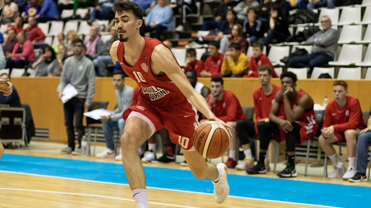 Cosialls durant un partit amb el Bàsquet Girona / Foto: Sergi Geronès