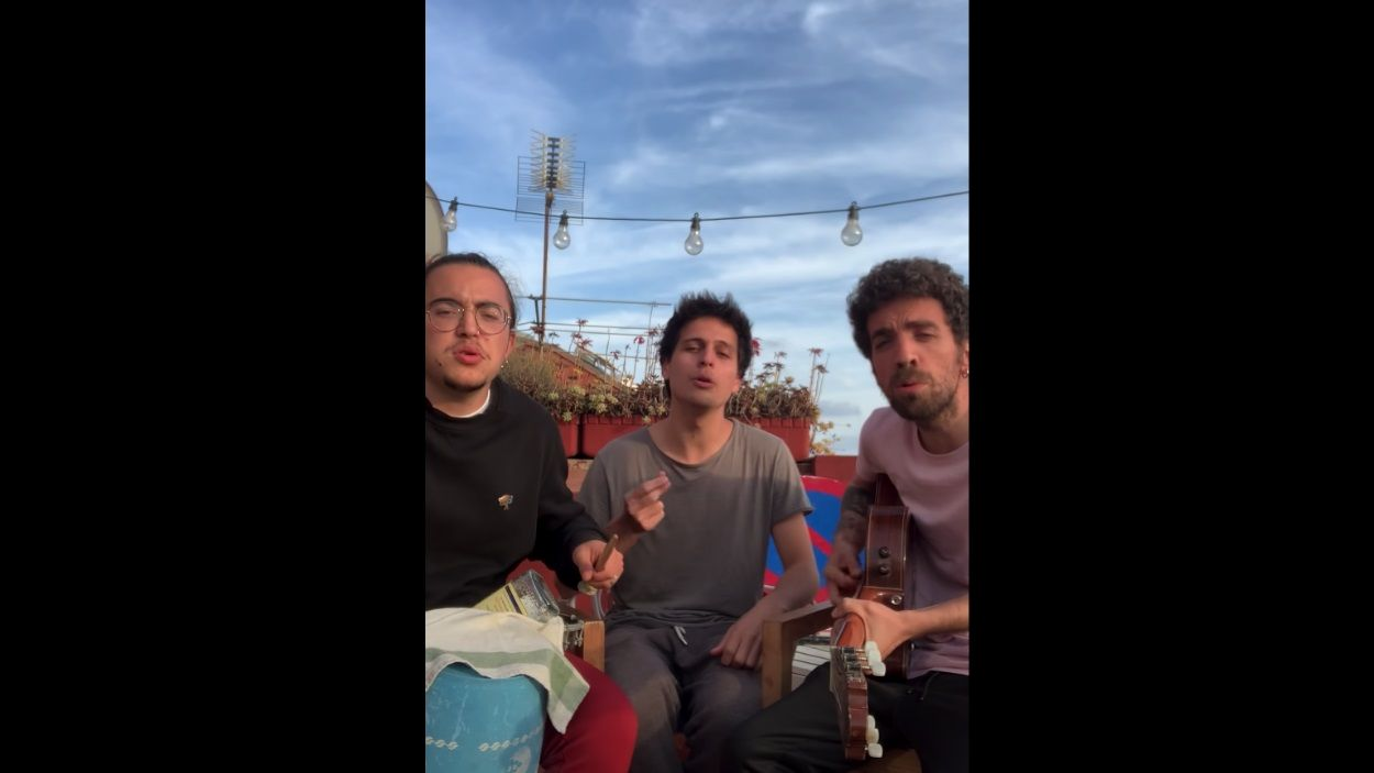El grup Stay Homas s'ha creat durant el confinament i ja té més de 400.000 seguidors a Instagram / Foto: Youtube