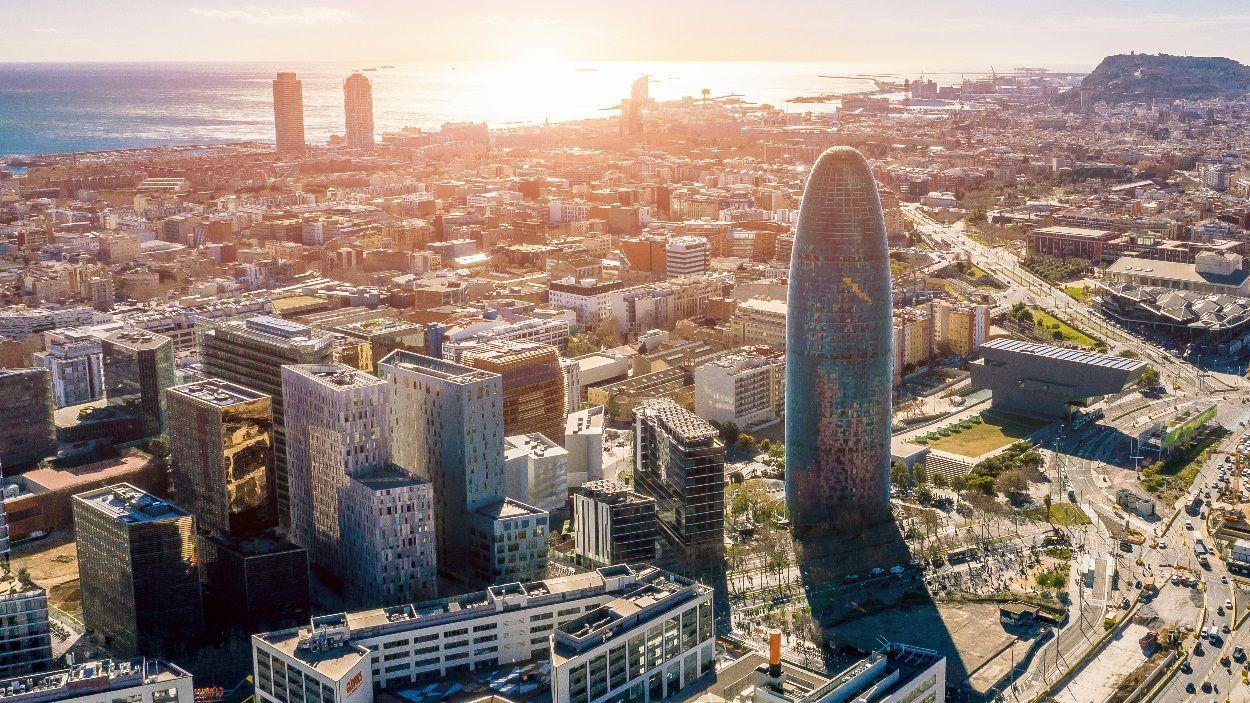 Imatge aèria de Barcelonada captada per l'empresa de Sant Cugat Topshot / Foto: Topshot