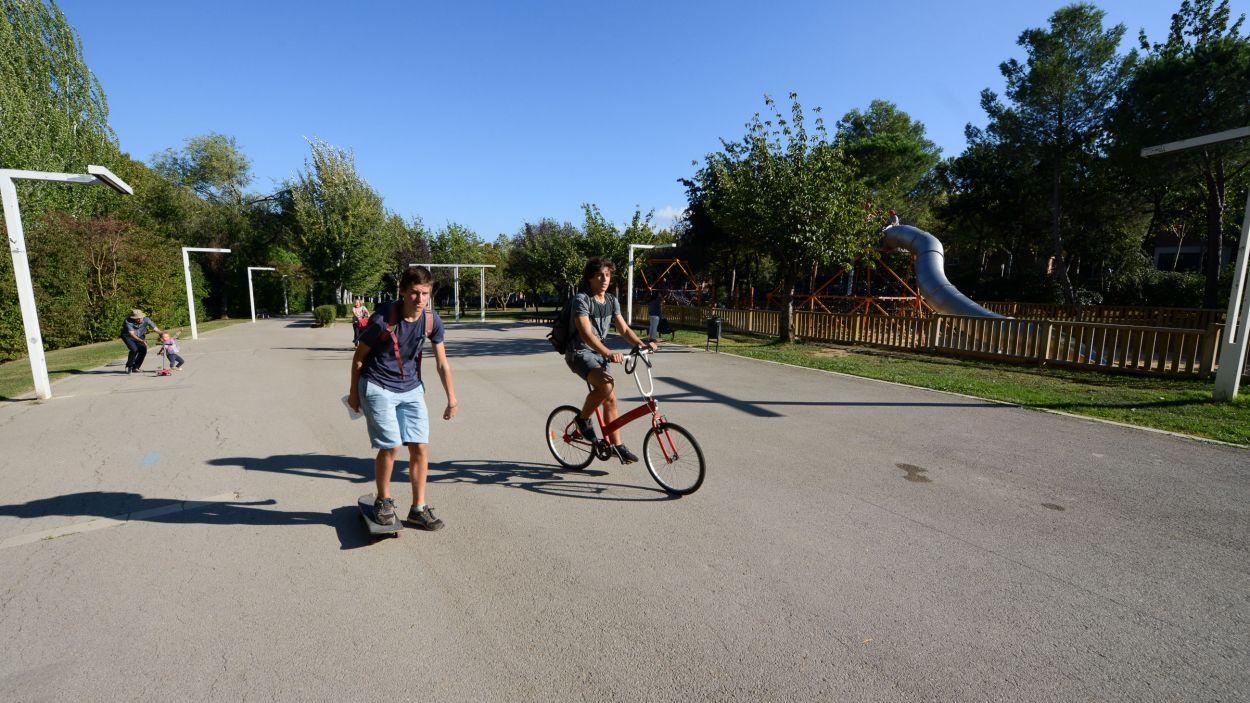 La disminució de la mobilitat a Sant Cugat ha contribuït a reduir la contaminació / Foto: Ajuntament