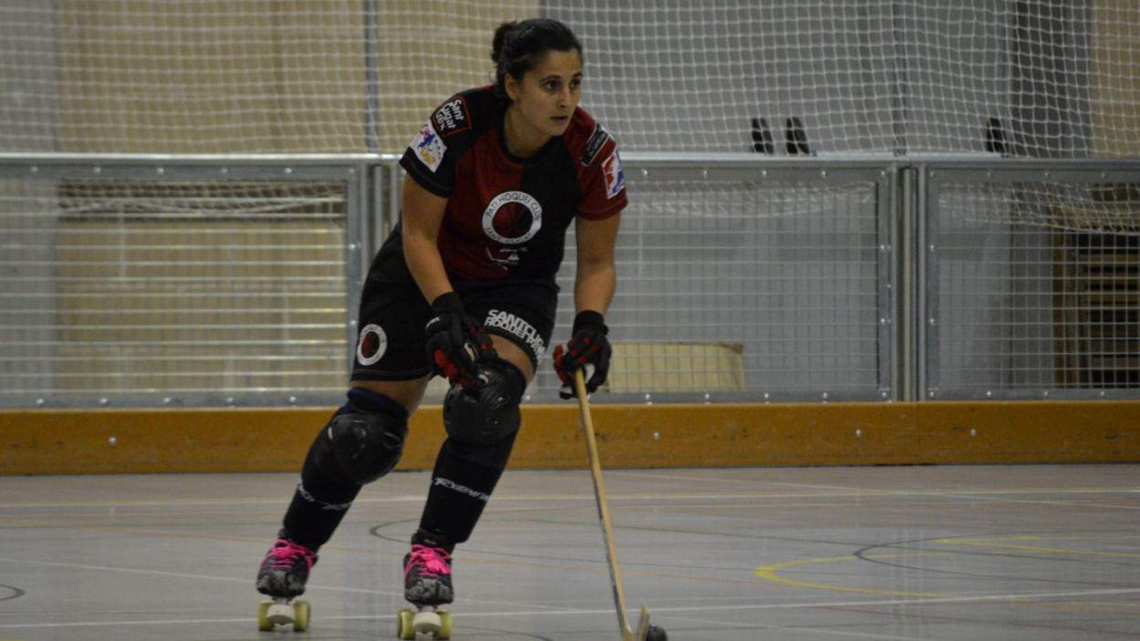 Maria Rosa Tamburini: 'Estic molt agraïda a l'hoquei patins'