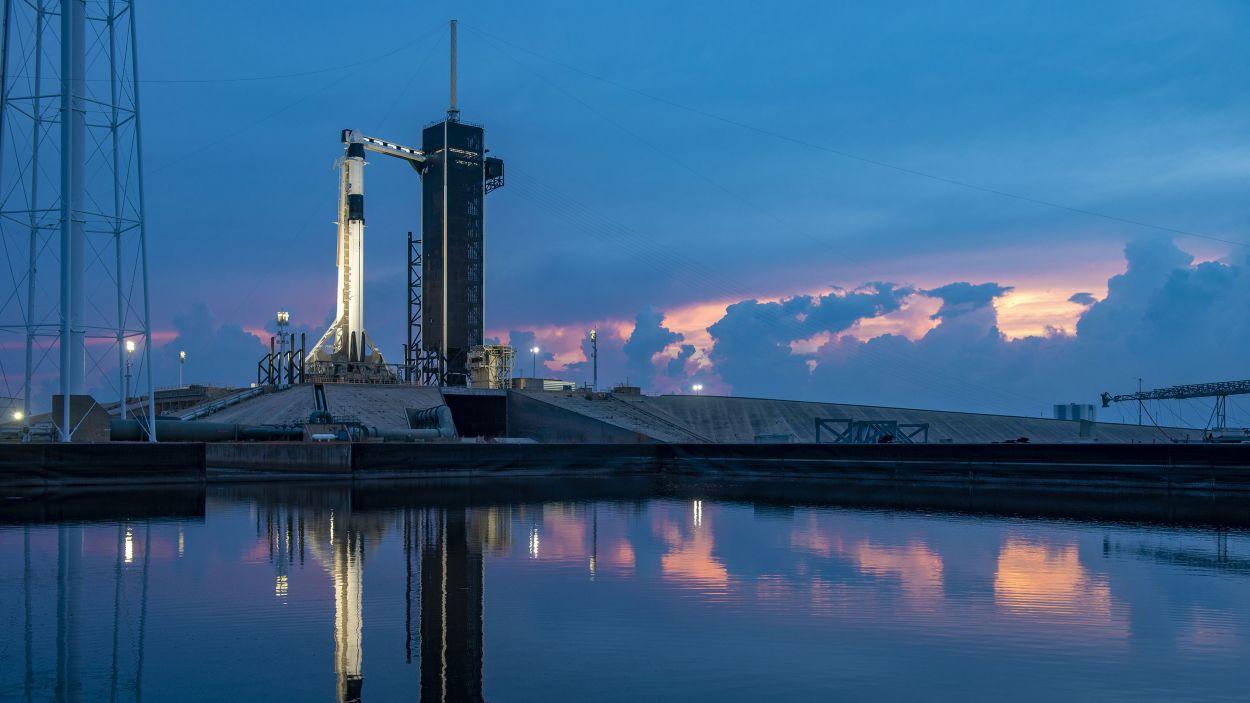 Una imatge de la zona de llançament / Foto: Space X (CC-by 2.0)