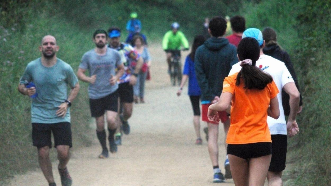 Posar-se a fer esport a un ritme excessiu és un risc / Foto: Cugat Mèdia